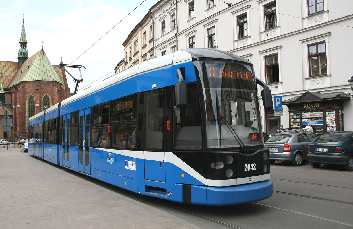 Krakow how to get to the center and transportation links for How much does a hillside tram cost