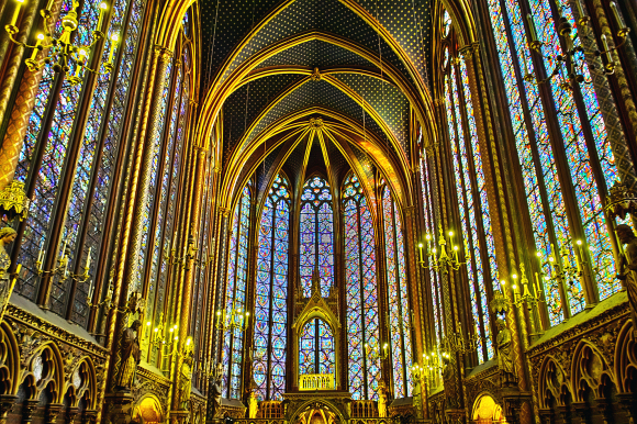 Paris sightseeing Sainte-Chapelle