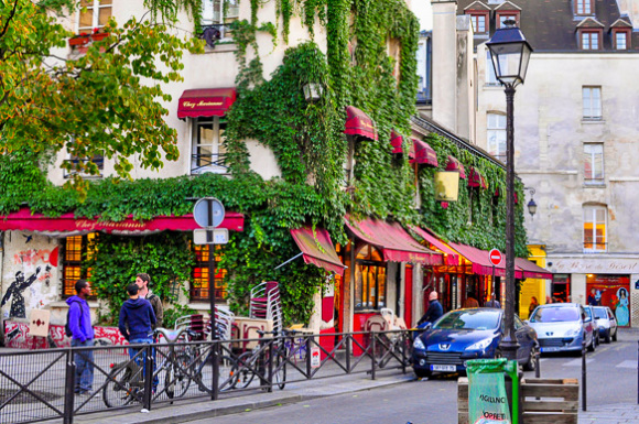 Paris sightseeing marais