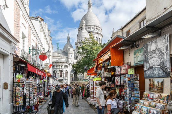 Paris sightseeing montmartre