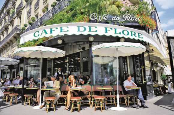 Paris sightseeing saint germain des Prés Cafe_de_Flore