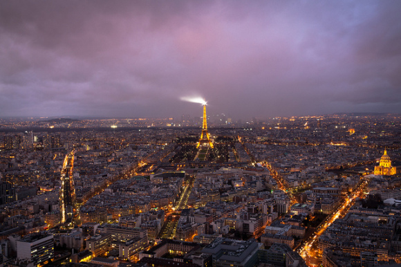 Paris sightseeing Se montparnasse tower
