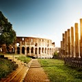 Rome sightseeing Colosseum foro romano