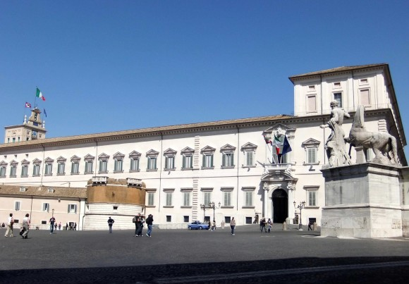 Rom sightseeing besøg palazzo Quirinale