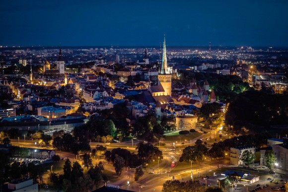 vita notturna Tallinn by night