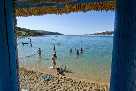 The most beautiful beaches of Pag Planjka Trincel Stara Novalja