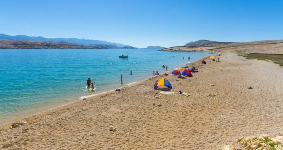 The most beautiful beaches of Pag Prnjica