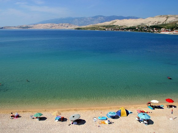 The most beautiful beaches of Pag Prosika