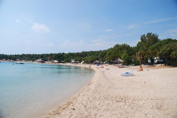 The most beautiful beaches of Simuni Pag Novalja Camping