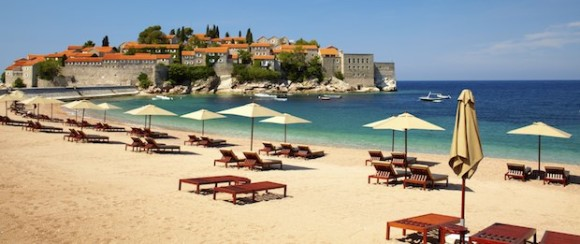 destinationer for ungdom sommer 2015 Budva Montenegro Beach