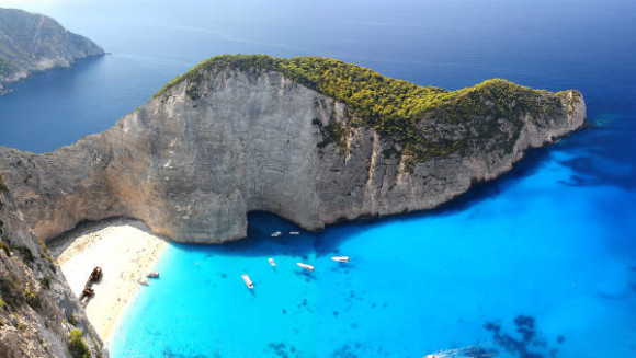destinationer for ungdom sommer 2015 Grækenland Zante Beach vraget