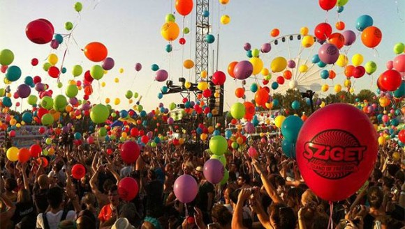 young summer destinations 2015 Sziget Festival Budapest
