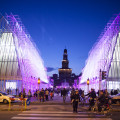 eventi expo 2015 milano expo gate night castello sforzesco