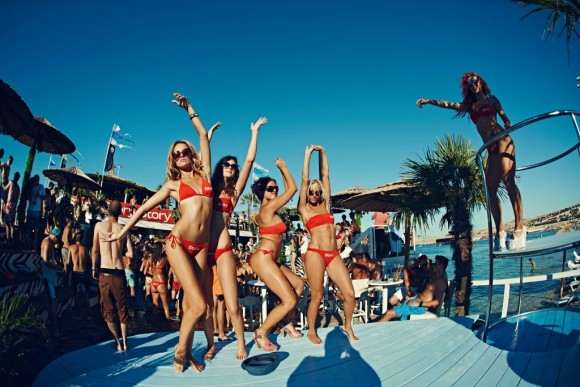 nightlife Pag Zrce Beach Beach Club Noa Novalja