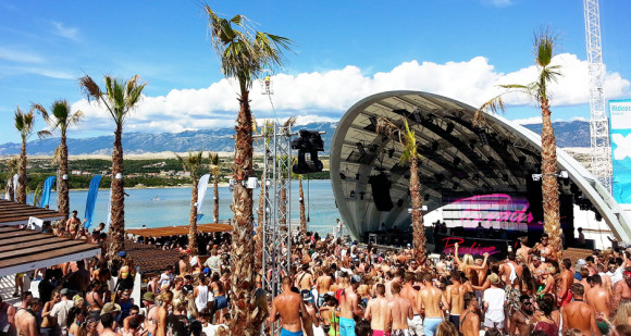 nightlife Pag Zrce Beach Hideout Festival