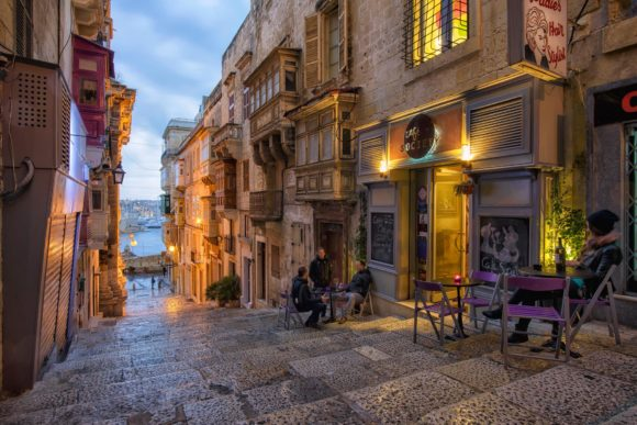 Nightlife Malta Valletta Cafe Society