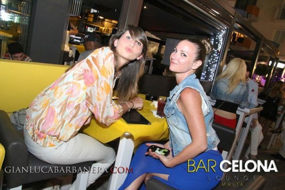 Malta Nachtleben Bar Celona Lounge Paceville in St. Julians