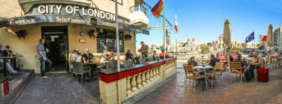 VITA Notturna Malta Stadt der London Bar Lounge St Julians Paceville