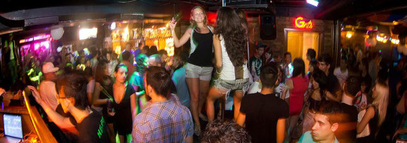 Malta nightlife Footloose Fun Bar Paceville in St Julians