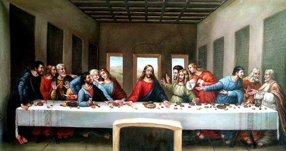 Free museums in Milan Lombardy domenicalmuseo last supper Leonardo da Vinci's last supper