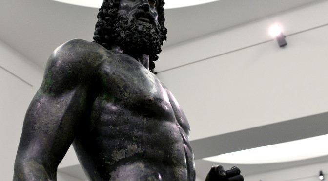 Free museums in Calabria domenicalmuseo bronze statues Reggio Calabria National Museum