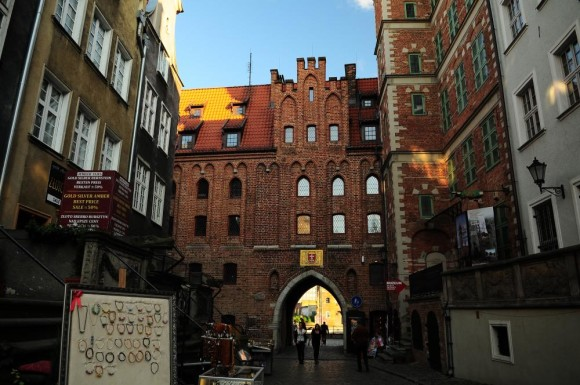 What to see in Gdansk to visit Santa Maria Port Brama Mariacka