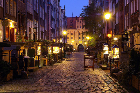What to see in Gdansk to visit Ulica Mariacka