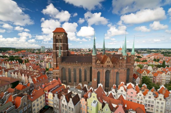 What to see in Gdansk Gdansk to visit the Church of Santa Maria Bazylika Mariacka