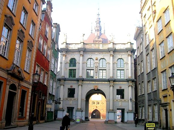 What to see in Gdansk where to visit the Golden door Zlata Brama