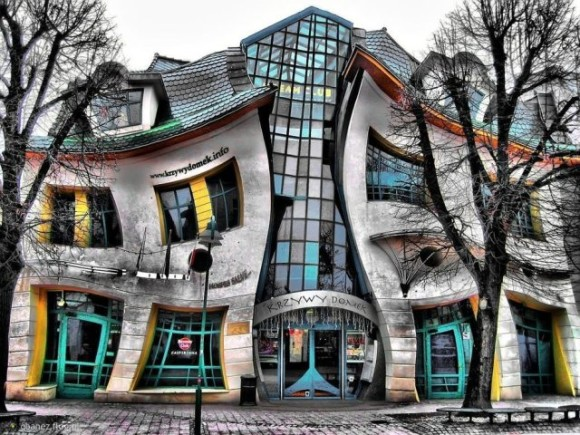 What to see in Gdansk Sopot thing distorted House crooked house