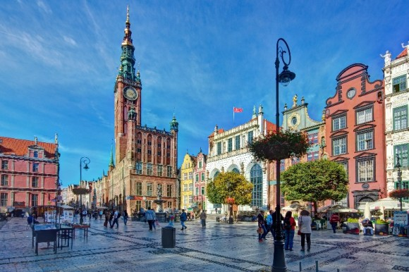 What to see in Gdansk where to visit the market square along Długi Targ