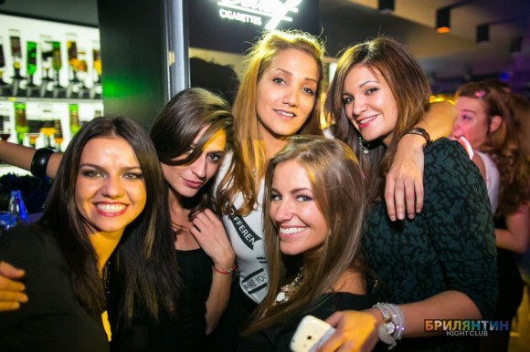 nightlife Sofia Briliantin Club Bulgarian girls