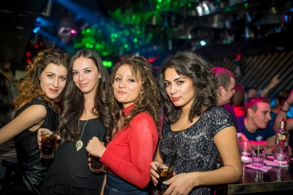 nightlife Sofia Retro Club Gramophone Bulgarian girls