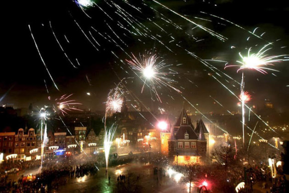 The best cities to celebrate new years eve Amsterdam