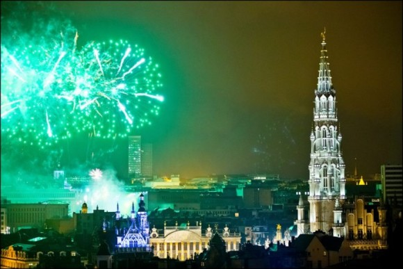 The best cities where new year's Eve Brussels