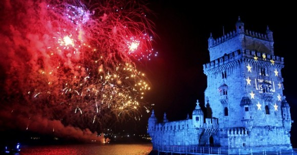 The best cities where new year's Eve Lisbon
