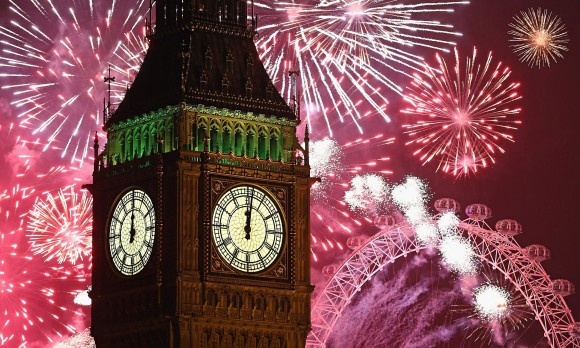 The best cities to celebrate new years eve London