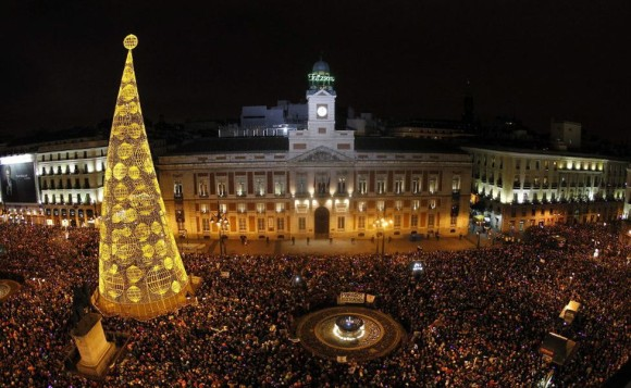 The best cities where new year's Eve Madrid