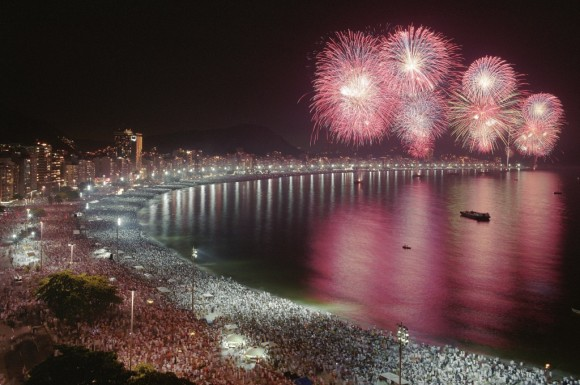 The best cities where celebrating new year Rio de Janeiro