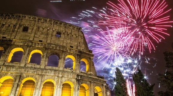 The best cities to celebrate new years eve Rome