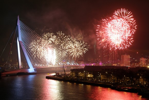 The best cities where new year's Eve Rotterdam