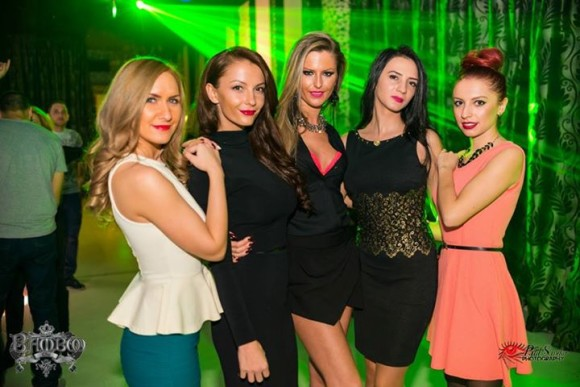 nightlife Cluj-Napoca Bamboo Club girls
