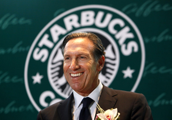 Starbucks goes to Italy in Milan in 2017 Howard Schultz