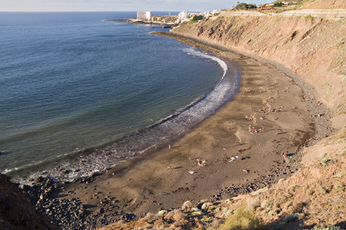 Tenerife finest beaches playa El Arenal