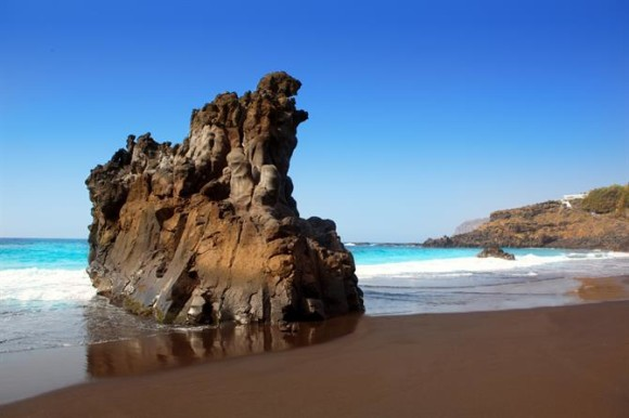 Tenerife finest beaches playa El Bollullo