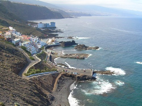 Tenerife finest beaches playa El Pris