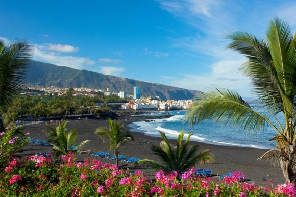 Tenerife finest beaches playa Jardin