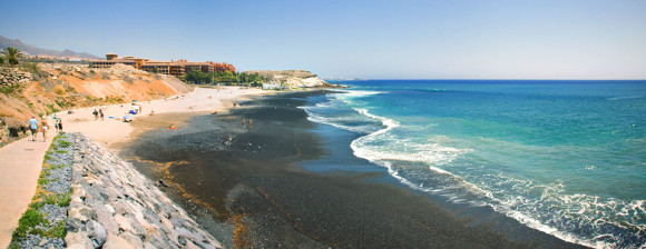 Tenerife finest beaches playa La Enramada