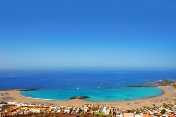 Tenerife finest beaches playa Las Vistas