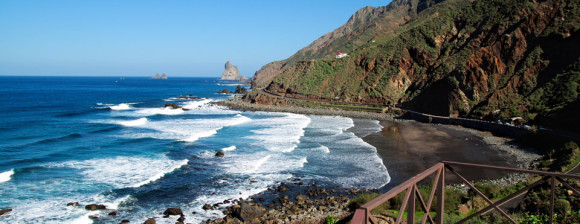 Tenerife finest beaches playa de Almaciga